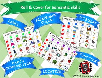 Roll & Cover for Semantic Skills