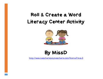 Roll & Create a Word (Preview)