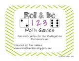 Roll & Do Math Games - Common Core Aligned!