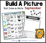 Roll Draw and Write (Math and Literacy Program) Whimsy Wor