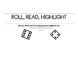 Roll Read Highlight Journeys 2nd Grade High Frequency Words
