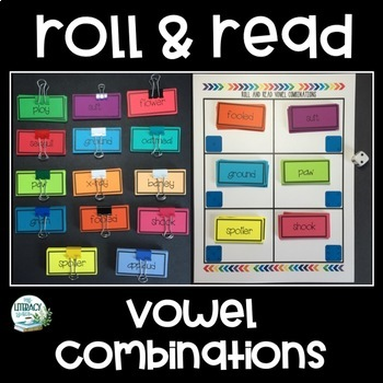 Roll & Read - Vowel Combinations