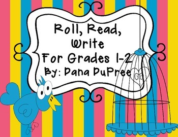 Roll, Read, Write, Spring Edition Grade 1-2