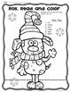 Roll, Read and Color Winter Freebie {Math Kindergarten}