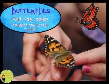 Roll, Say, Keep: Alphabet, Butterflies