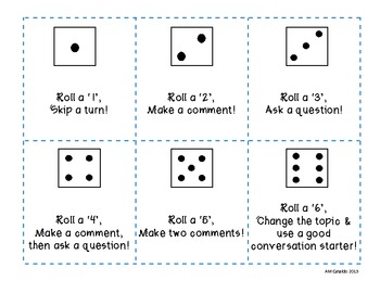 Roll The Dice! A Conversation Game