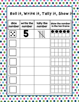 Roll, Write, Tally, Show