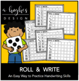 Roll & Write {With Blank Templates}