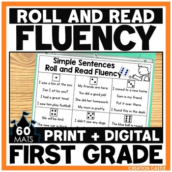 Roll Your Way to Fluency in 1st Grade