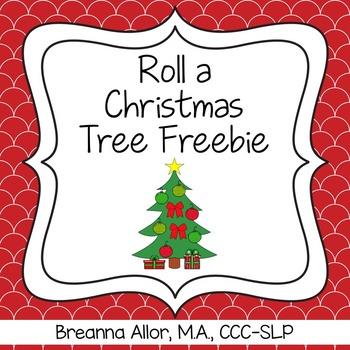Roll a Christmas Tree Freebie