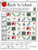 Roll-a-Dice BACK TO SCHOOL Artic: NO PREP Worksheets w/ De