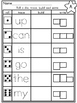 Roll a Die,Trace, Color and Write a Sight Word- List A