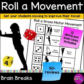 Roll a Gross motor movement