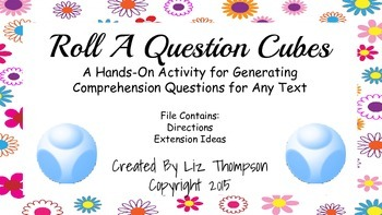 Roll a Question Cubes