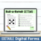 Reading Retelling Comprehension Questions:  Roll-a-Retell