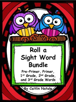 Roll a Sight Word Bundle