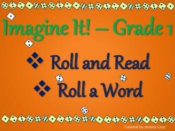 Roll a Word Imagine It - First Grade