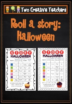 Roll a story: Halloween theme