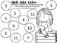 Roll and Color Math - School Theme