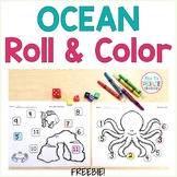 Roll and Color Ocean Style- FREEBIE!!