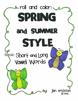 Roll and Color SPRING AND SUMMER STYLE:  Short and Long Vo