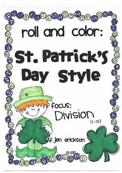 Roll and Color ST. PATRICK'S DAY STYLE: Division
