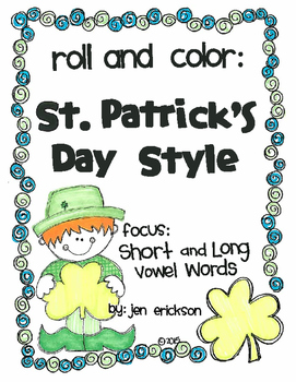 Roll and Color ST. PATRICK'S DAY STYLE:  Short and Long Vo