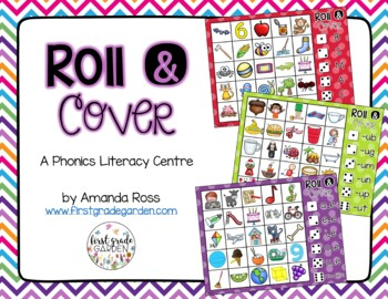 Roll and Cover {A Phonics Literacy Centre}