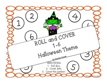 Roll and Cover Halloween Theme