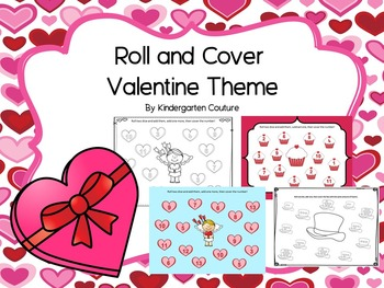 Roll and Cover Valentine Theme