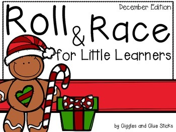Roll and Race for Little Learners (December Edition)