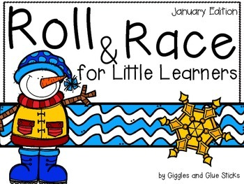 Roll and Race for Little Learners (January Edition)