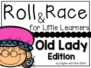 Roll and Race for Little Learners: Old Lady that Swallowed
