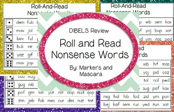 Roll and Read DIBELS Review Set