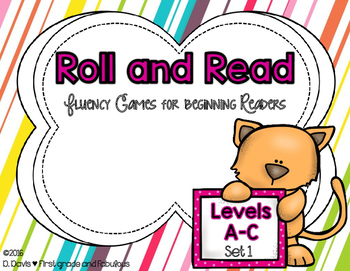 https://www.teacherspayteachers.com/Product/Roll-and-Read-Fluency-Games-for-Beginning-Readers-2813893