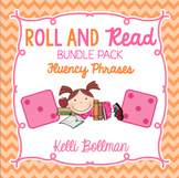 Roll and Read Fluency Phrases Bundle Pack {Short Vowels, L