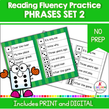 Roll and Read:  Fry Phrases Second 100 Words