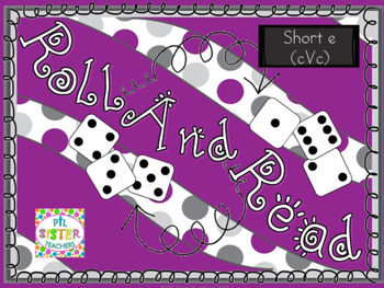 Roll and Read  R-Controlled Vowels (EAR,EER)  FLUENCY Inte