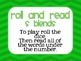 Roll and Read:  S Blends FREEBIE