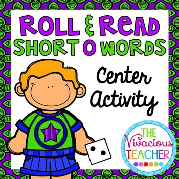 Short O (CVC Words and Nonsense Words) Roll and Read Games