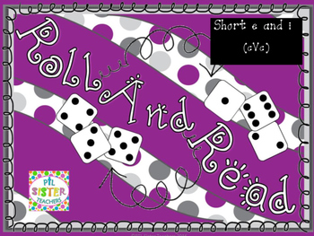 Roll and Read Short Vowel E and I (cVc) Mixed Review for F