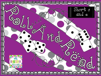Roll and Read Short Vowel O and E Mixed Review for FLUENCY