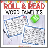 Roll and Read Short Vowel Word Families Fluency