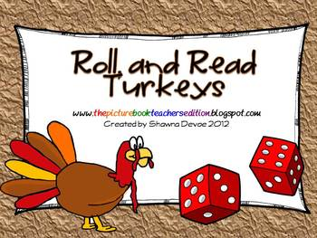 Roll, and Read Turkeys