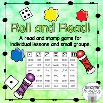 Roll and Read (a no prep reading game!)