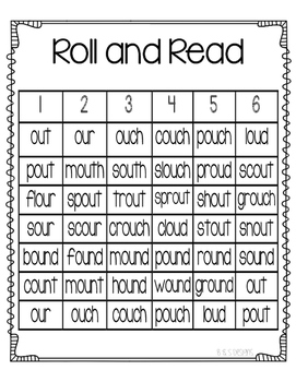 Roll and Read ou