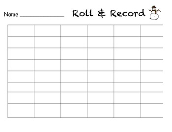 Roll and Record Through the Year