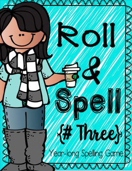 Roll and Spell 3 - Word Work/Sight Word/Spelling w/paper phone