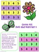 Roll and Subtract 1 Cover All -Spring Freebie