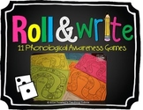 Roll and Write- 11 Phonological Awareness Games